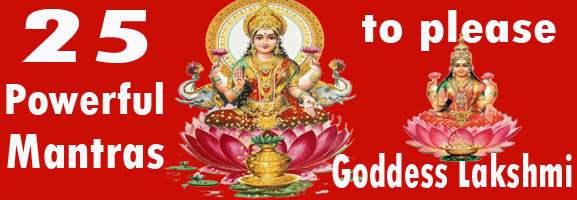 Lakshmi Mantras for wealth and abundance - Goddess Lakshmi